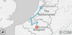Amsterdam & Brussels Bound (2020) (Brussels to Amsterdam, 2020) - 6 destinations