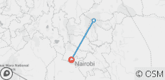 Mount Kenya Climbing - 4 Days Naro Moru Route - 3 destinations