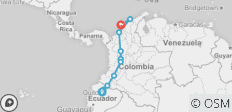 Ecuador to Colombia Explorer - 19 Days - 10 destinations
