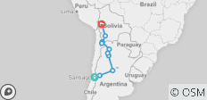 Atacama, Salt Flats & Gauchos Northbound - 21 Days - 10 destinations