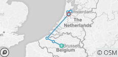 I Need Brussels & Amsterdam - Belgium and Holland Total Experience - 8 destinations
