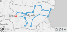 Ultimate Bulgaria Tour - History, Nature & Traditions - 23 destinations