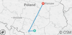 Discover Poland and its Jewish Heritage (Krakow, Auschwitz, Warsaw) - 3 destinations