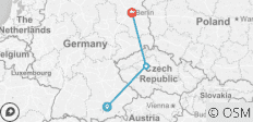 "Custom Trip across Europe's ""Beer Belt"" (Munich, Prague, Berlin) - 3 destinations"