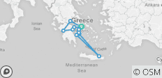 Spotlight On Greece Plus Greek Sailing - 13 destinations
