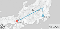 Japan Express - 3 destinations