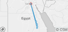 Egypt in 8 Days(3 Nights 5* Nile Cruise,Flights,Egyptologist,14 Sightseeing&16 Meals) - 7 destinations