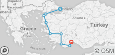 Essential Turkey (from Istanbul to Antalya) - 9 destinations
