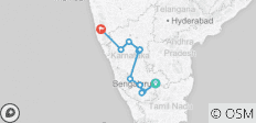 Karnataka Tour with Goa - 10 destinations