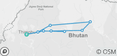 Country Vacation - Bhutan Scenic Tour - 10 destinations