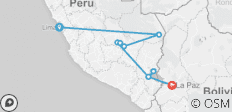 Real Peru to Bolivia - 9 destinations