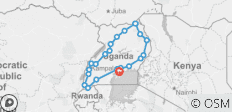 12- Day Uganda Expedition: Experience Moments with Gorillas, Water Falls and the Big Five - 23 destinations