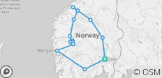 Norway Highlights - 14 destinations