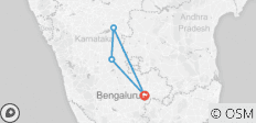 Bangalore to Hampi 3 Days Private Tour - 4 destinations