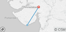 Car & Driver For Ahmedabad - Diu 2 Nights 3 Days Trip with Ahmedabad Drop - 3 destinations