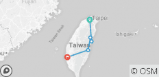 9-Day Private Culture Tour of Taiwan - 5 destinations