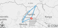 The Explorer, Uganda Gorillas And Wildlife - 7 destinations
