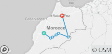 Overnight Trip in Merzouga Desert: Start in Marrakech & end in Fes - 7 destinations