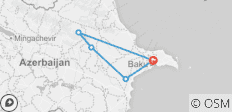 4 Night / 5 Day Tour in Baku - 5 destinations