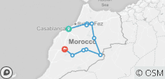 Essential Morocco (from Casablanca to Marrakesh) - 10 destinations