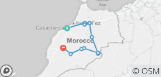 Essential Morocco - 11 destinations