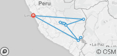 Real Peru - 11 destinations