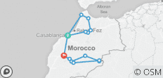Fairytale Morocco. History and the trip to the desert. - 15 destinations