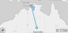 Alice Springs to Kakadu - 6 destinations