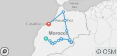 7 Day trip from Marrakech to Merzouga Desert - Fes - Chefchaouen then end the tour in Casablanca - 18 destinations