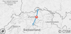 Discover Switzerland with Zurich, Lucerne and Rhine fall - 5 destinations