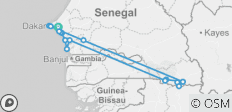 Tribes of Senegal, 10 days - 17 destinations