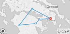 Classical Tour of Greece – Three Days from Athens - 6 destinations
