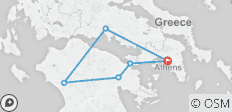 Three Days Classical Tour of Greece from Athens - 6 destinations