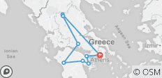 Classical Tour of Greece – Four Days from Athens - 9 destinations