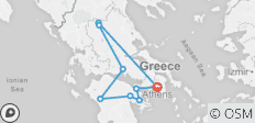 Four Days Tour of Greece from Athens  - 9 destinations