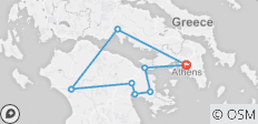 Classical Tour including Nauplion – Four Days from Athens - 8 destinations
