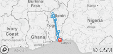Round-trip Benin with voodoo festival - 15 destinations