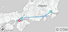 Japans Goldene Route - 9 Destinationen