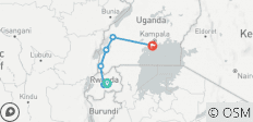 Journey to the jungles of Rwanda and Uganda - 6 destinations