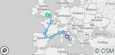 Quest To Rome (Latest, 16 Days) - 20 destinations