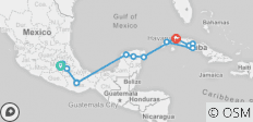 Mexico & Cuba Adventure - 14 destinations