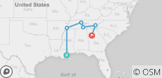 Southern Stars - New Orleans To Atlanta - 6 destinations