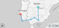 Highlights of Spain (from Madrid to Lisbon) - 6 destinations