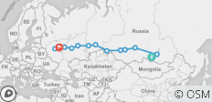 Unique Trans-Siberian Bus group tour from Lake Baikal to Moscow - 13 destinations
