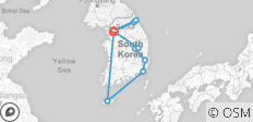 South Korea. Mountains, Jeju island and megapolises - 10 destinations