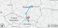 Pilgrimage to Poland (End Warsaw, 8 Days) - 8 destinations