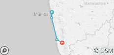 Von Mumbai nach Goa - 4 Destinationen