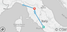 Heart of Italy with Cinque Terre - Small Group - 9 destinations