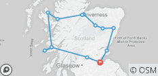 A Scottish Journey - 14 destinations