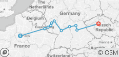 Cities of Light Trier to Bamberg - 11 destinations